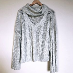 Urban Outfitters Oversized V-Neck Sweater